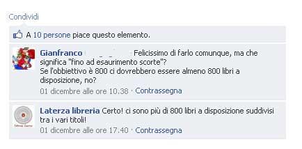 commento pagina Laterza