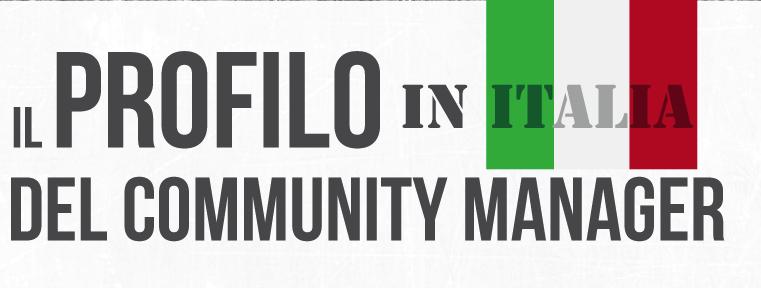 Il profilo del community manager italiano [INFOGRAFICA]