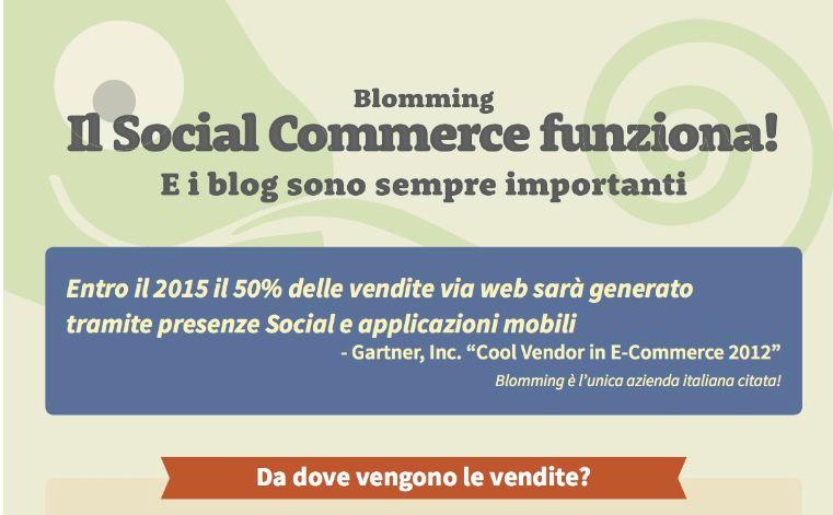 Il Social Commerce funziona e i blog sono sempre importanti [Infografica]