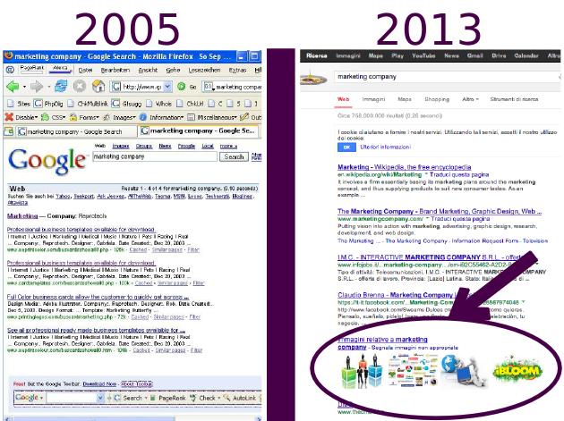 2-google-serp-2005-2013