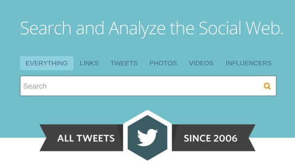 Cercare tutti i tweet su Twitter a partire dal 2006 e' ora possibile!