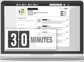 Gestire i social media in soli 30 minuti al giorno! [infografica]