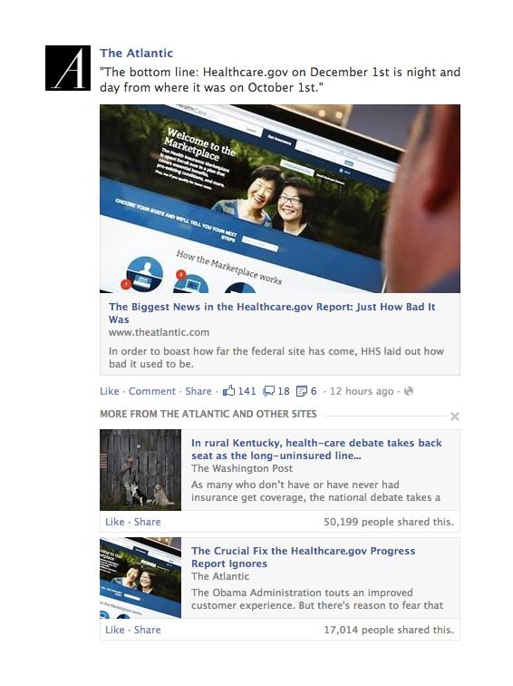 Aggiornamento NewsFeed Facebook