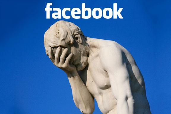 facebook calo visibilita