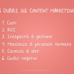 6 dubbi sul content marketing e come superarli