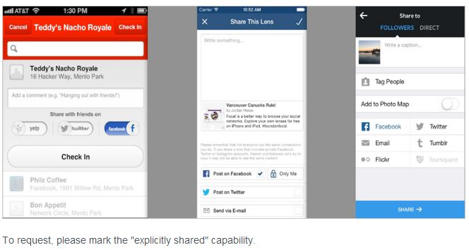 Facebook contro la visibilita' dei post auto-pubblicati