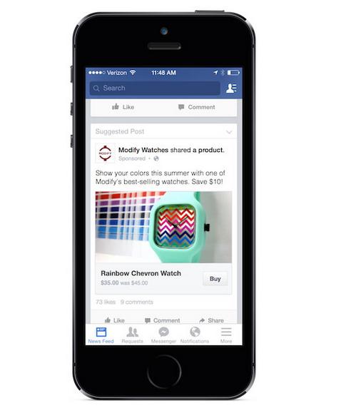 buy button facebook