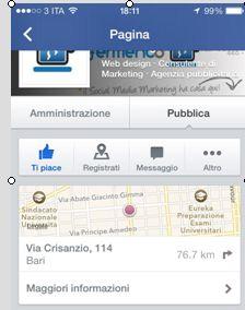 registrazioni facebook