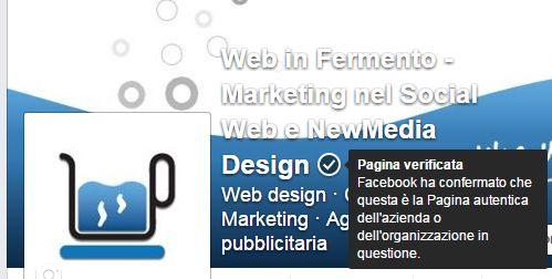 verificare la pagina facebook