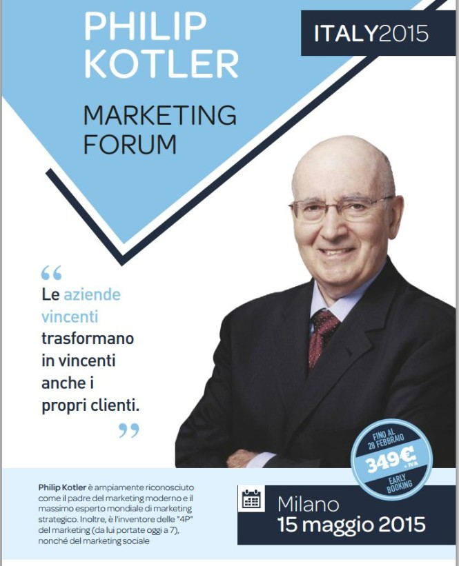 philip kotler marketing forum 2015