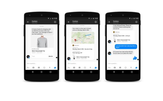 businesses on messenger2