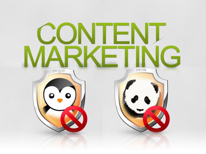 content marketing no penguin panda