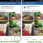 Facebook + Whatsapp: l'instant messaging predomina nei social media