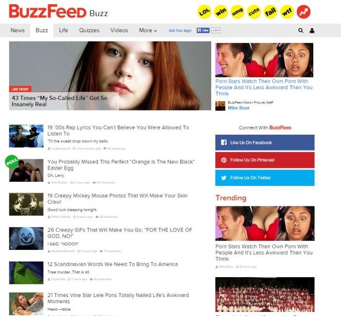 buzzfeed buzz