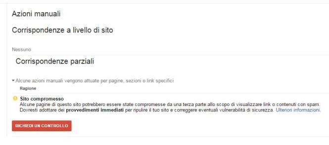 azione manuale google