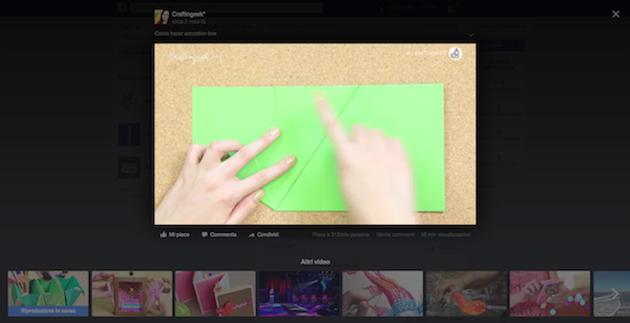 Video schermata