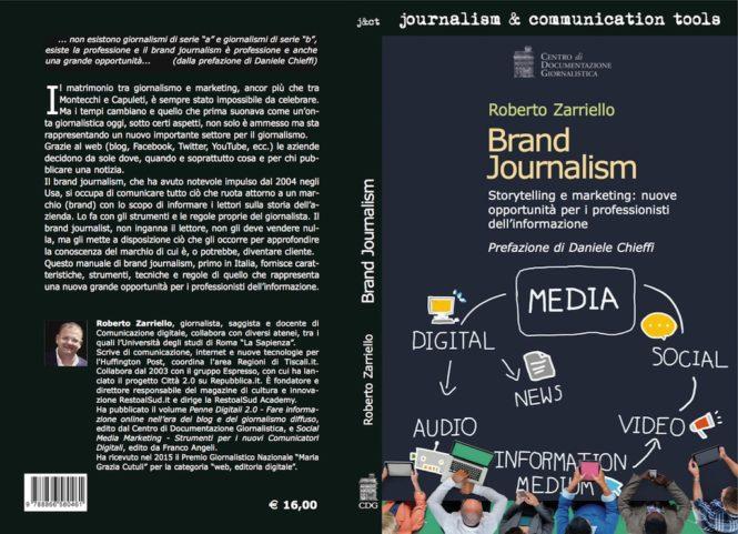 Brand Journalism logo libro