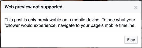 error desktop Canvas Facebook