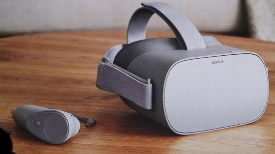 Visore Facebook Oculus go